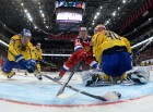 Ice hockey. Channel One Cup. Russia vs. Sweden
