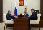 President Putin's working meeting with Head of Federal Antimonopoly Service Igor Artemyev