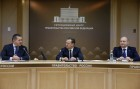 Prime Minister Dmitry Medvedev chairs videoconference