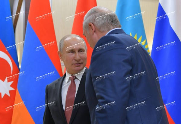 President Putin takes part in CIS leaders' informal meeting