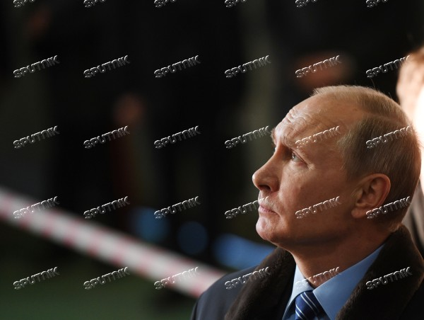 President Vladimir Putin on a working visit to Tver Region