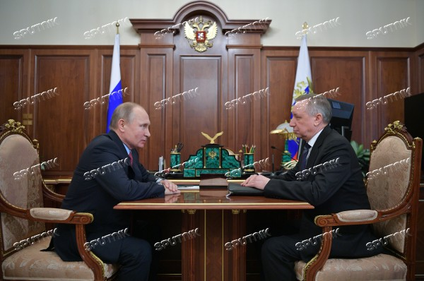 President Putin meets with Presidential Envoy to Central Federal District Alexander Beglov