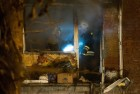 Explosion of household gas in residential building in Omsk