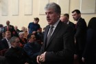 Presidential candidate Grudinin meets with confidantes