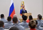 President Vladimir Putin meets with Russian athletes competing in 23rd Winter Olympic Games in PyeongChang