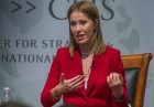 Presidential candidate Ksenia Sobchak makes statement in Washington, D.C.