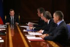 Prime Minister Dmitry Medvedev holds meeting with deputy prime ministers