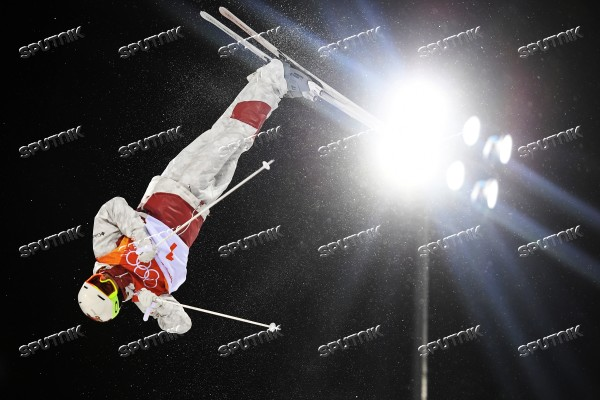 2018 Winter Olympics. Freestyle skiing. Men. Moguls