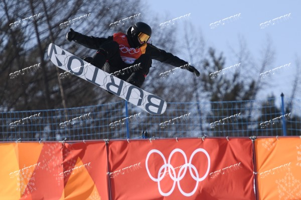 2018 Winter Olympics. Snowboard. Men. Half Pipe. Qualification