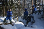 ISS crew holds winter survival training