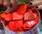 Preparations for St. Valentine's Day