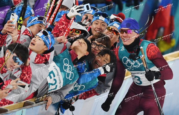 2018 Winter Olympics. Cross-country skiing. Men. Sprint