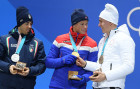 2018 Winter Olympics. Award ceremony. Day five