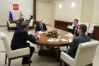 President Vladimir Putin meets with participants in first national forum Mentor