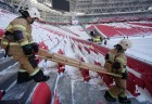 Command staff exercise at Kazan Arena