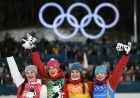 2018 Winter Olympics. Cross-country skiing. Women. Relay