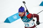 2018 Winter Olympics. Biathlon. Women. Mass start