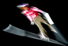 2018 Winter Olympics. Ski jumping. Men's large hill. Official training