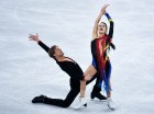 2018 Winter Olympics. Figure skating. Ice dance. Short program