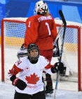 2018 Winter Olympics. Ice hockey. Women. Canada vs. Russia
