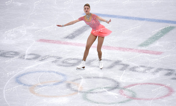 2018 Winter Olympics. Figure skating. Women. Short program