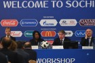Seminar for participating teams in 2018 FIFA World Cup. Day one