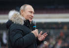 Rally in support of Vladimir Putin for president