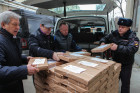 Shipping voting ballots to local election commissions in Stavropol Territory