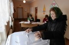 Early voting at Russian presidentisal elections