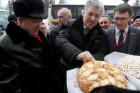Russian presidential hopeful Grudinin visits Kazan