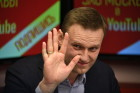 Alexei Navalny gives interview to Echo of Moscow radio