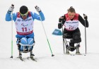 2018 Paralympics. Cross-country skiing. Open relay