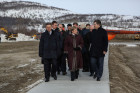 Minister of Transport Maxim Sokolov's working visit to Murmansk