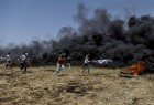 Protests on Gaza Strip's border with Israel