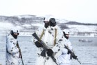 National Guard drill in Murmansk