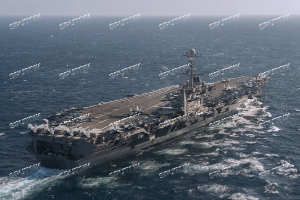 United States Navy strike group led by USS Harry S. Truman leaves port of Norfolk