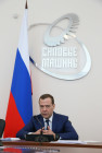 Russian Prime Minister Dmitry Medvedev's working trip to St. Petersburg