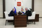 President Putin meets with FNRP head Shmakov