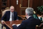 President Vladimir Putin meets with Moscow Mayor Sergei Sobyanin