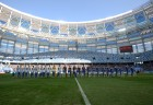 Football. First official match at Nizhny Novgorod Stadium