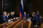 Prime Minister Medvedev chairs meeting with his deputies
