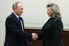 President Vladimir Putin meets with High Commissioner for Human Rights Tatyana Moskolkova