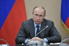 President Vladimir Putin holds meeting with Government members