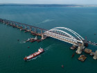 Construction of Kerch Strait (Crimean) Bridge