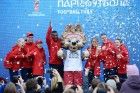 Yekaterinburg presents 2018 World Cup volunteer uniform at Football Park