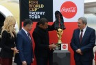 2018 World Cup Trophy on display in Vladivostok