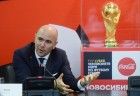 FIFA World CUp Trophy presented in Novosibirsk