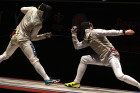 Fencing. St. Petersburg Foil 2018. Individual competitions