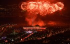 Fireworks display to mark Victory Day in Moscow
