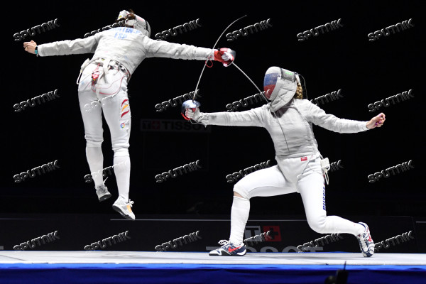 Fencing. 2018 Moscow Saber. Women